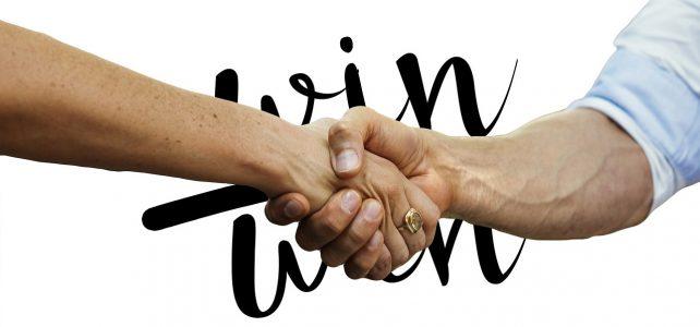 Win Win Handshake